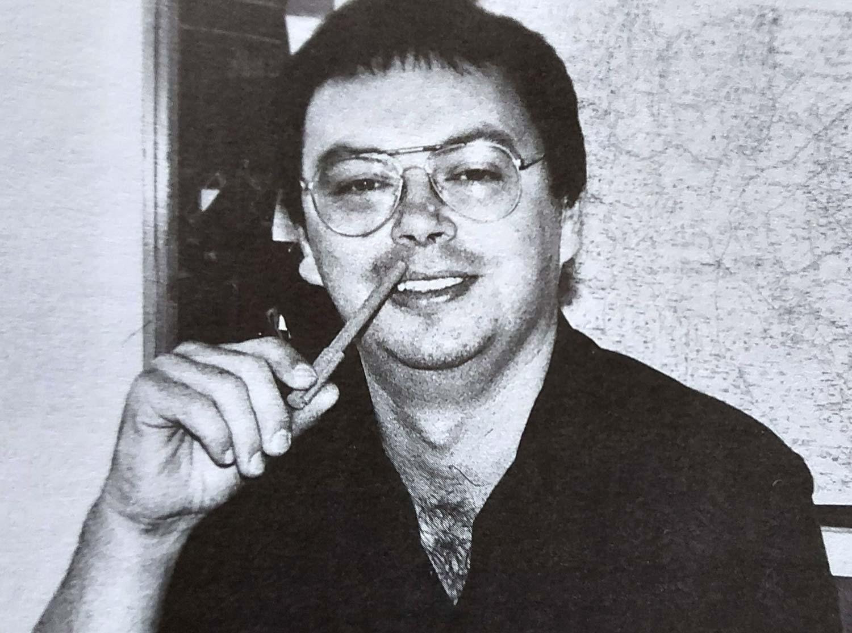 Roman Latković u redakciji Novog lista 1996. godine