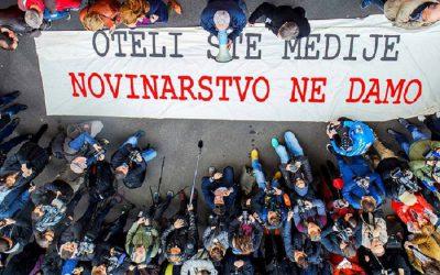 Poruka moćnicima: novinari nikada neće šutjeti
