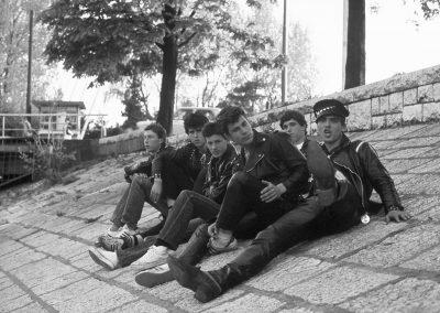 Članovi Parafa i Termita sa Rusom pred Kontom